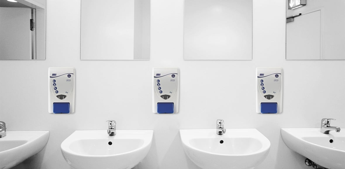 antimicrobial soap dispensers