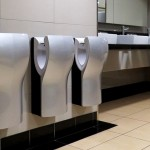 antimicrobial public washroom products