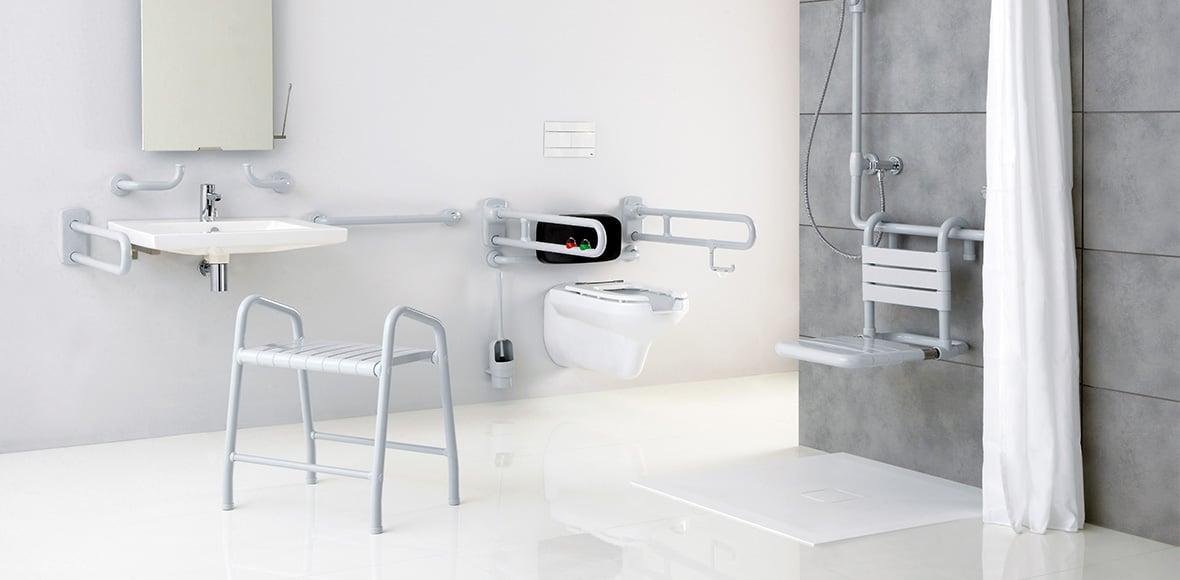 Antimicrobial bathroom fittings by ponte giulio biocote ltd for Ponte giulio