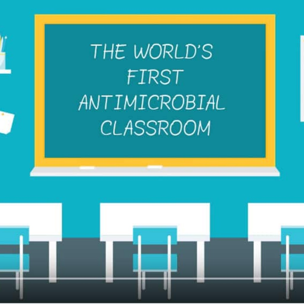 Antimicrobial Classroom
