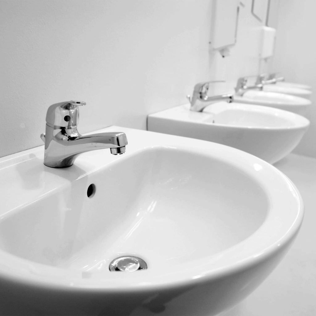 How much bacteria are lurking in a public toilet