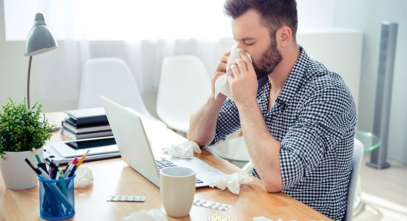 Infection control in the workplace: how to reduce employee absenteeism