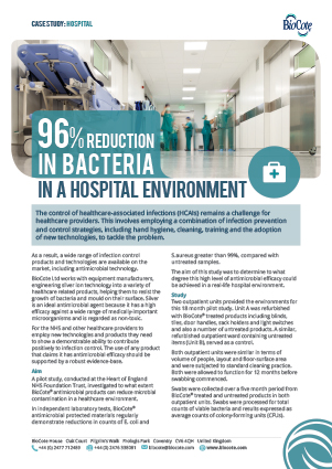 Antimicrobial Technology In A Hospital | Case Study