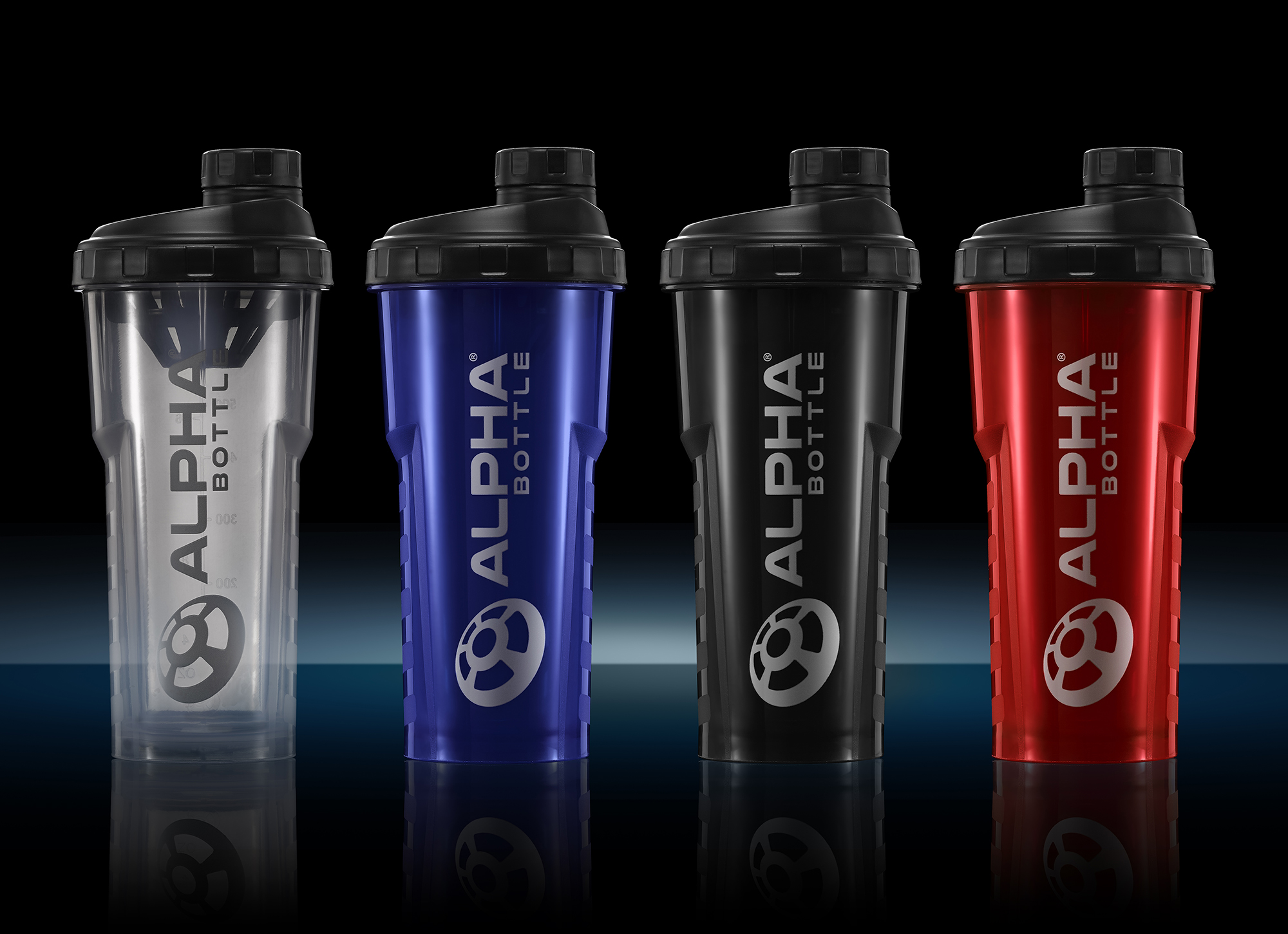 Alpha Designs Antimicrobial Shaker Bottle