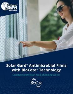 Solar Gard Saint-Gobain Brochure Cover