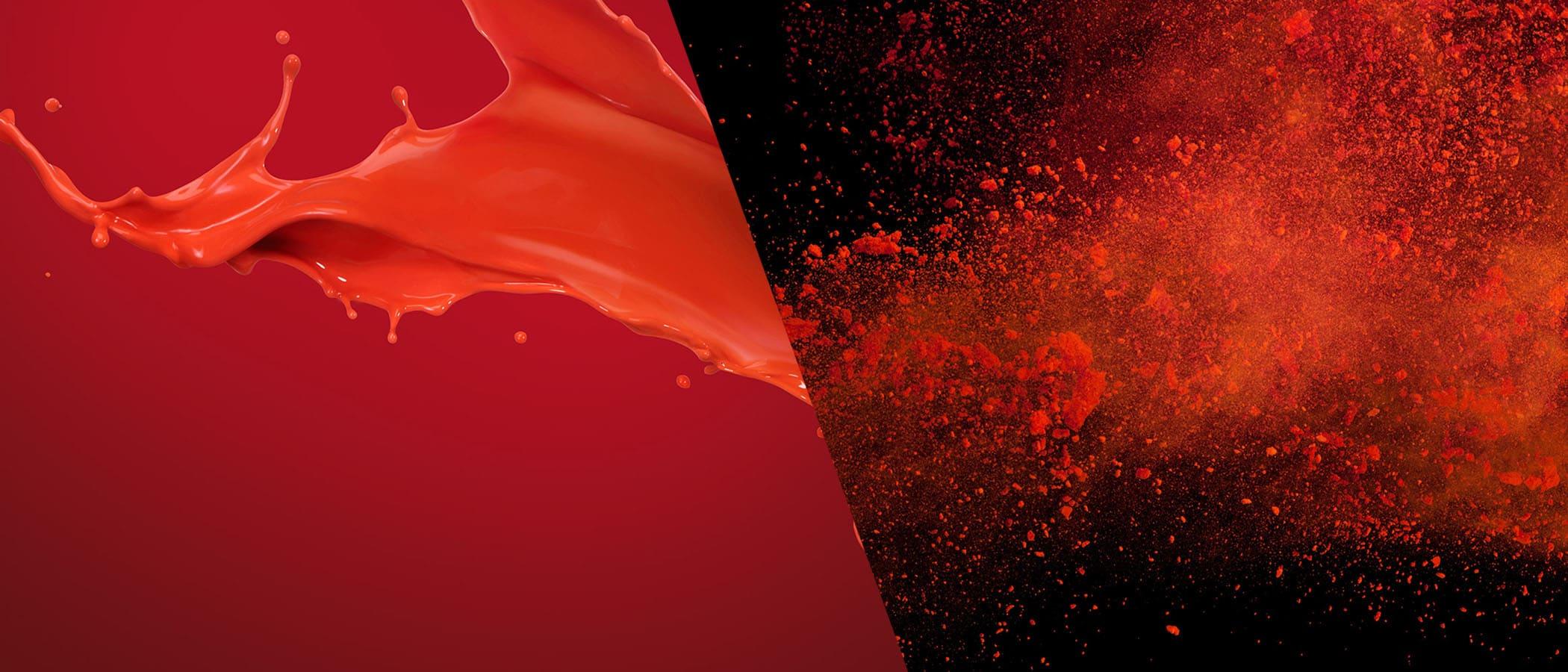 Cardinal Paint Powder Splash