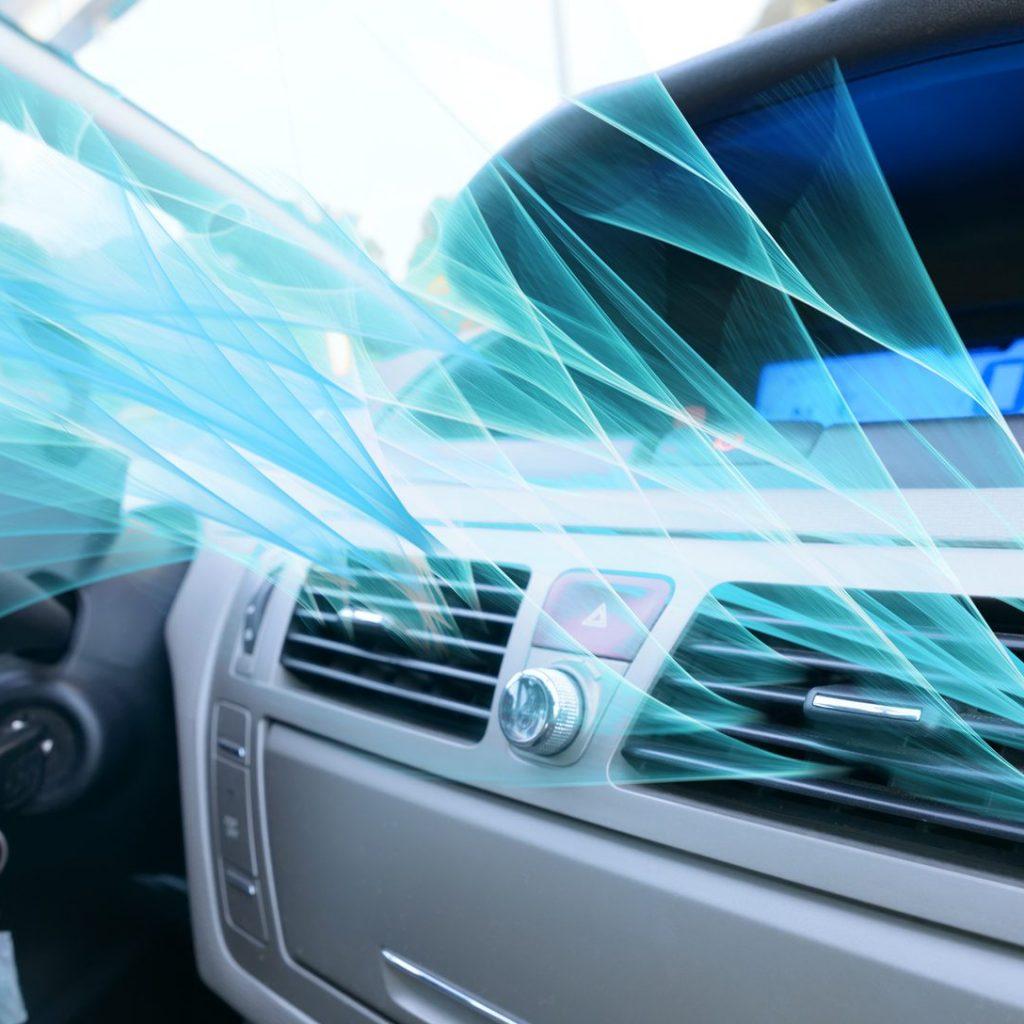 HVAC Automotive Car Interior
